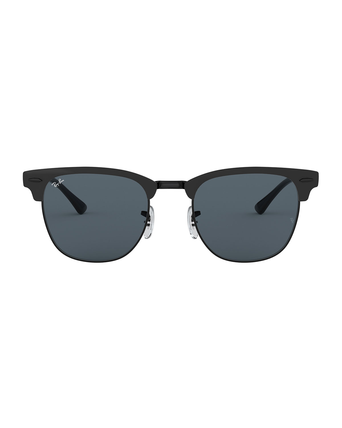 68716cc3c6 RAY BAN RAY-BAN UNISEX METAL CLUBMASTER SUNGLASSES
