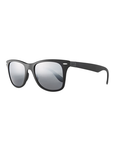 Wayfarer Literforce Gradient Mirrored Men's Sunglasses
