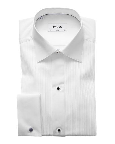 Eton Men's Slim-Fit Pleated Bib Formal Shirt