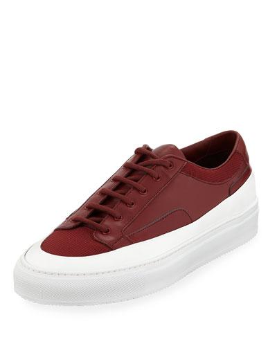 7a05a6d63f8d Red Platform Sneaker