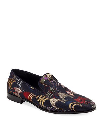 Men's Jacquard Archival Slip-On Loafer