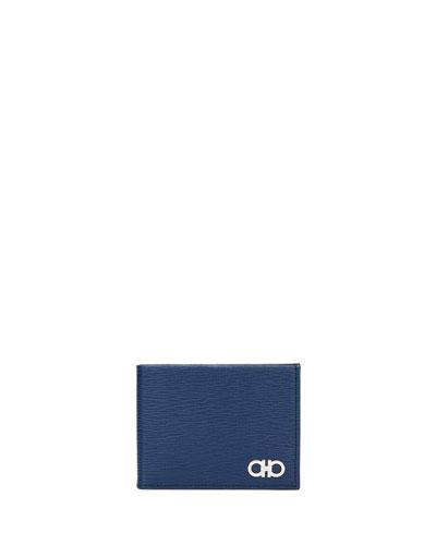 Men's Revival Gancini Leather Bi-Fold Wallet