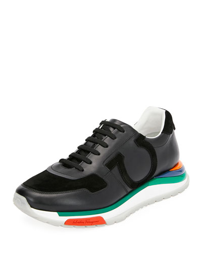 Men's Brooklyn Sneakers w/ Rainbow Sole