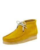Sycamore Style Men's Suede Wallabee/Moc Chukka Boot, Speed