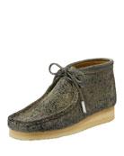 Sycamore Style Men's Suede Wallabee/Moc Chukka Boot, Gray