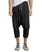Men's Lullaby Drop-Crotch Jogger Pants