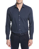 Loro Piana Men's Arthur Cotton Sport Shirt