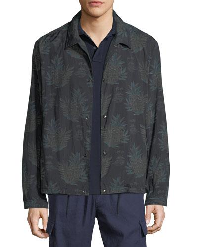 03207ac3f Quick Look. Vince · Men's Coaches Tropical-Print Nylon Jacket