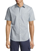 Vince Drawstring Linen-Blend Cargo Shorts and Matching Items