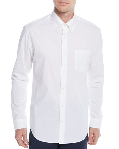 Men's Poplin Pocket Sport Shirt