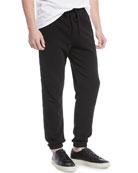 Vince Men's Mixed-Media Sweatpants and Matching Items &