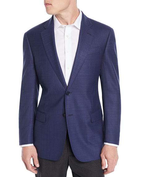 Emporio Armani Men's Textured Wool Blazer