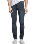 Men's Hunter Distressed Skinny Jeans