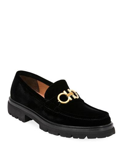 434f6c4eb3b Black Velvet Loafers
