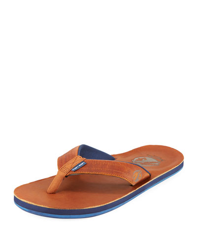 x Nokona Men's Leather Thong Sandal, Generation