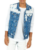 Men's Danny Baja Racer Denim Vest