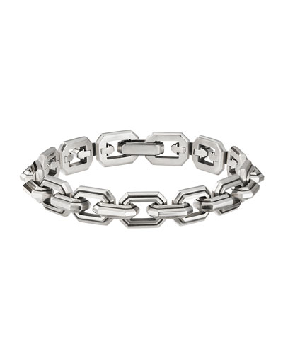 Men's Deco Link Chain Bracelet