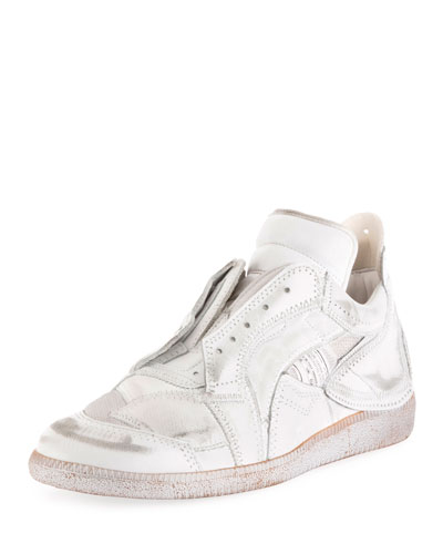Men's College Leather Sneakers