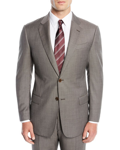 Men's Micro-Textured Two-Piece Suit