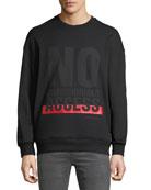 Neil Barrett Men's Graphic Sweatshirt
