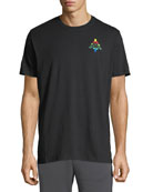 Marcelo Burlon Men's Kappa Multicolor-Logo T-Shirt