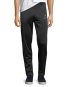 Marcelo Burlon Multicolor Kappa Straight-Leg Jersey Sweatpants