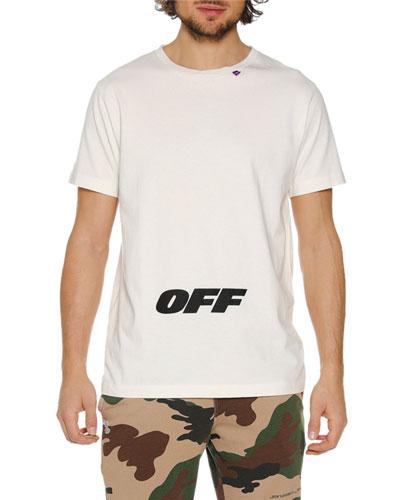 Men's Wing Off Graphic Slim T-Shirt