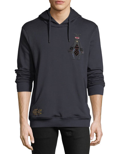 Men's Superbugs Patch Hooded Sweatshirt