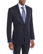 Brioni Men's Tonal Stripe Wool-Silk Two-Piece Suit