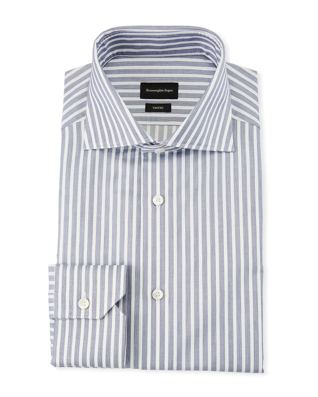 Men's Trofeo Wide Stripe Dress Shirt
