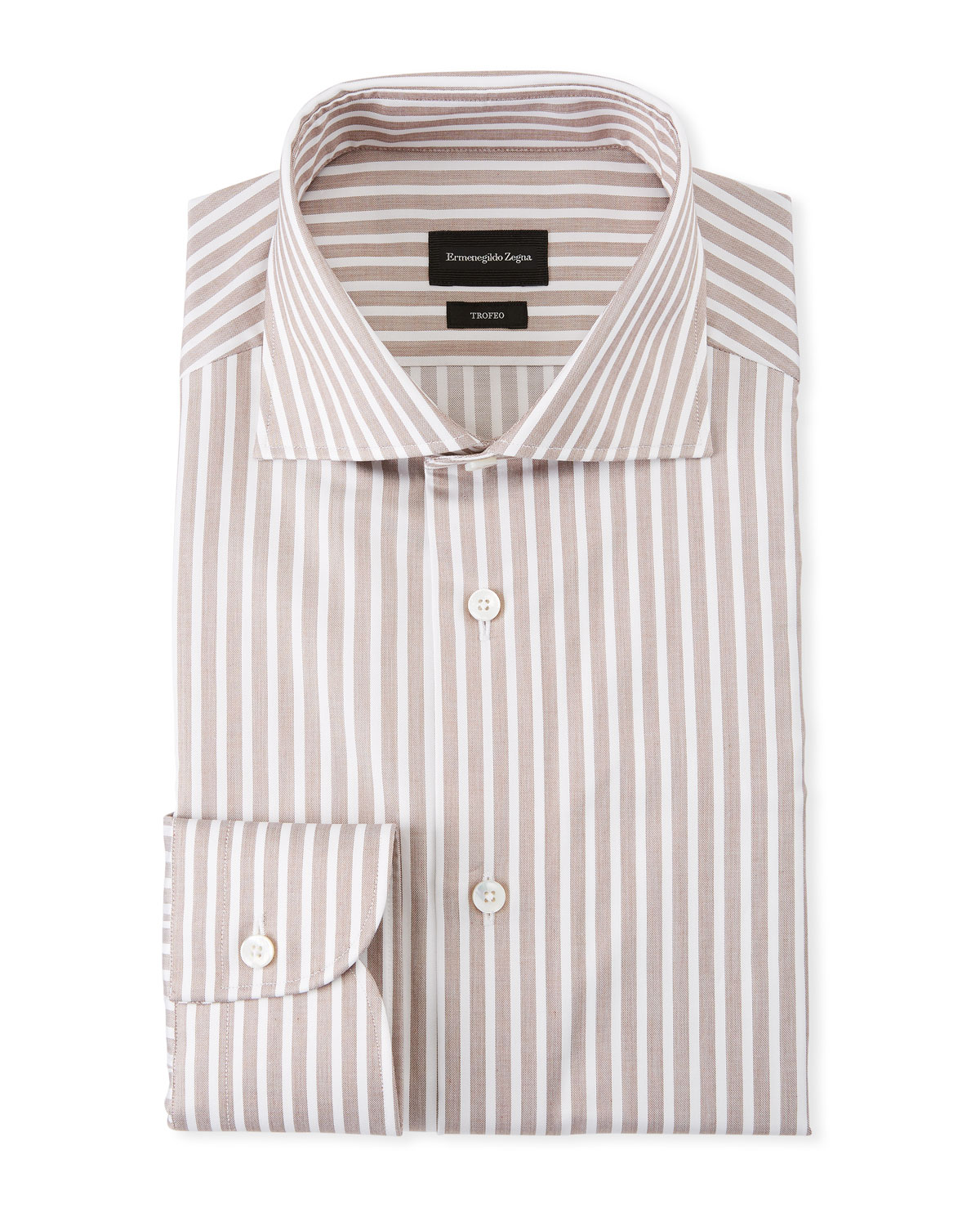Men's Trofeo Bengal Stripe Dress Shirt