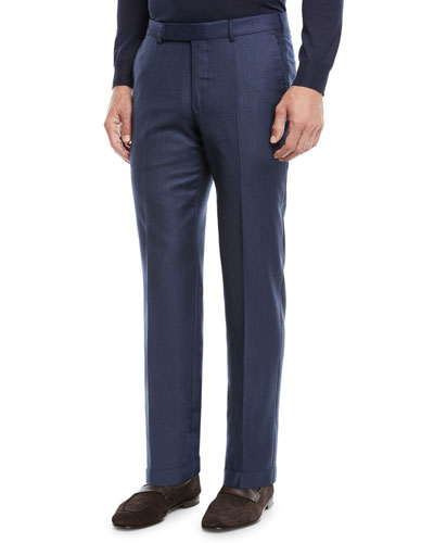 Men's Trofeo Wool Dress Pants