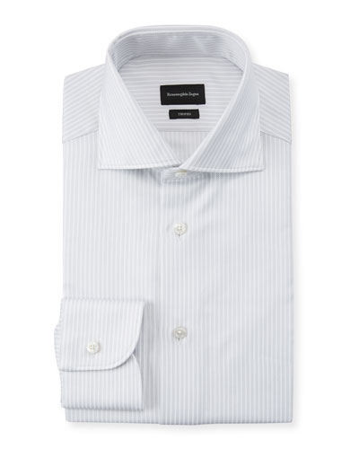 Men's Trofeo Graphic Stripe Dress Shirt