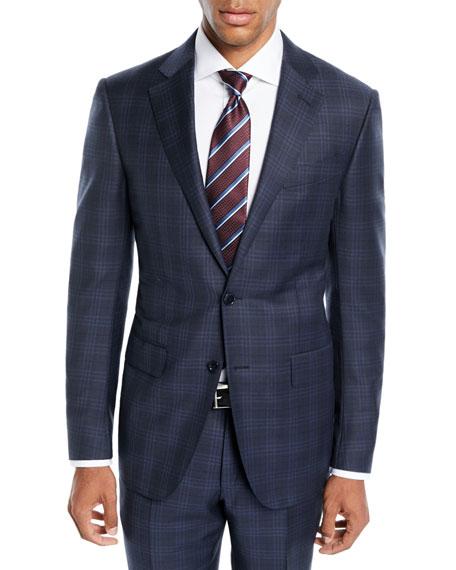 Ermenegildo Zegna Men's Trofeo® Wool Plaid Two-Piece Suit