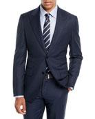 Ermenegildo Zegna Men's Wool Solid Two-Piece Suit