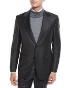 Ermenegildo Zegna Men's Herringbone Two-Piece Wool Suit