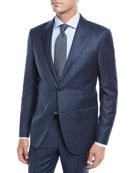 Ermenegildo Zegna Men's Solid Wool Two-Piece Suit