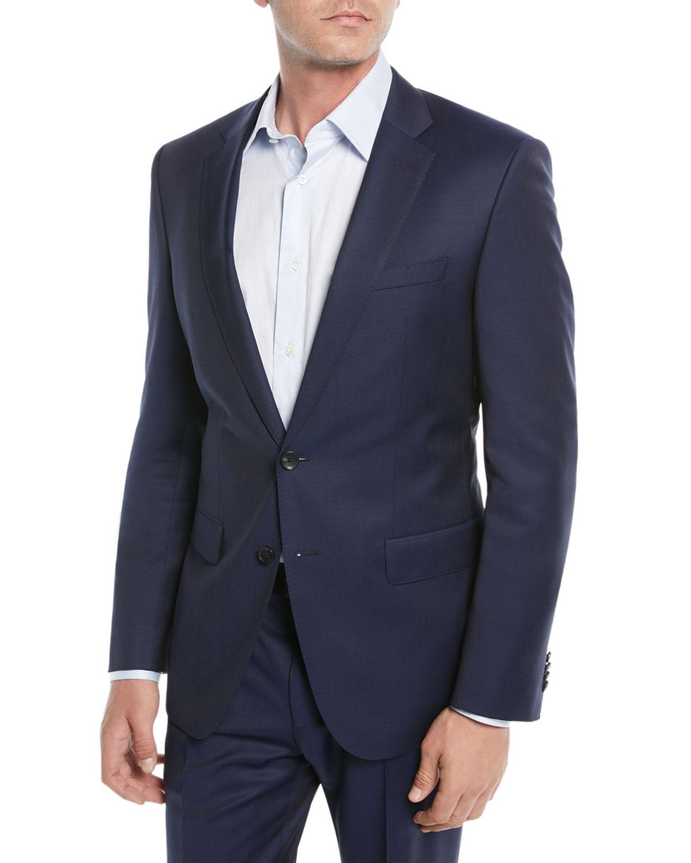 Men's Wool Basic Two-Piece Suit