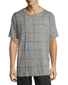 Men's Isly Grid-Knit T-Shirt