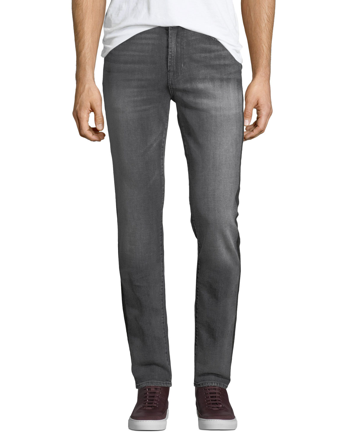 Men's Vagabond Striped Slim Jeans