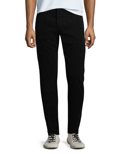 Men's Fit 2 Mid-Rise Relaxed Slim-Fit Corduroy Pants
