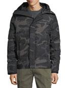 Canada Goose Men's Macmillan Hooded Camo Parka Coat