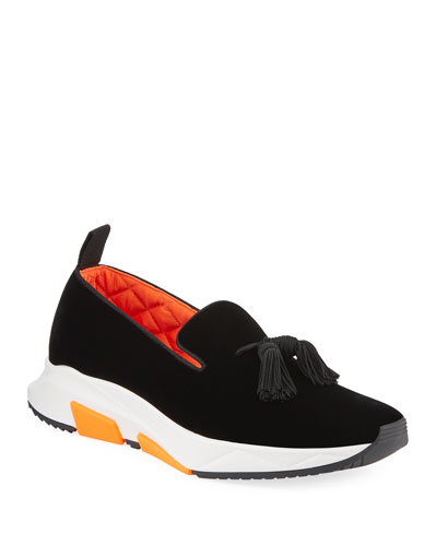 Turner Low-Top Hybrid Velvet Slipper