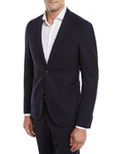 BOSS Nelven Slim-Fit Two-Button Virgin Wool Jacket