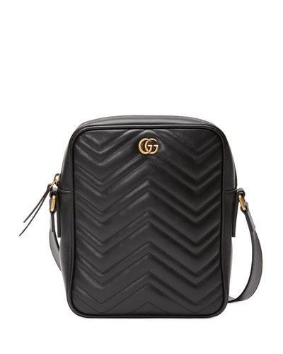 Men's GG Marmont Crossbody Bag