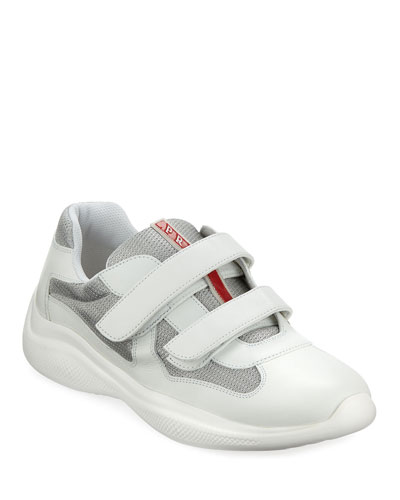 Men's America's Cup Sneakers with Double Grip-Strap