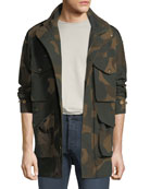 Burberry Men's Camo Field Jacket