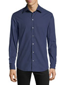 Emporio Armani Men's Pin-Dot Sport Shirt