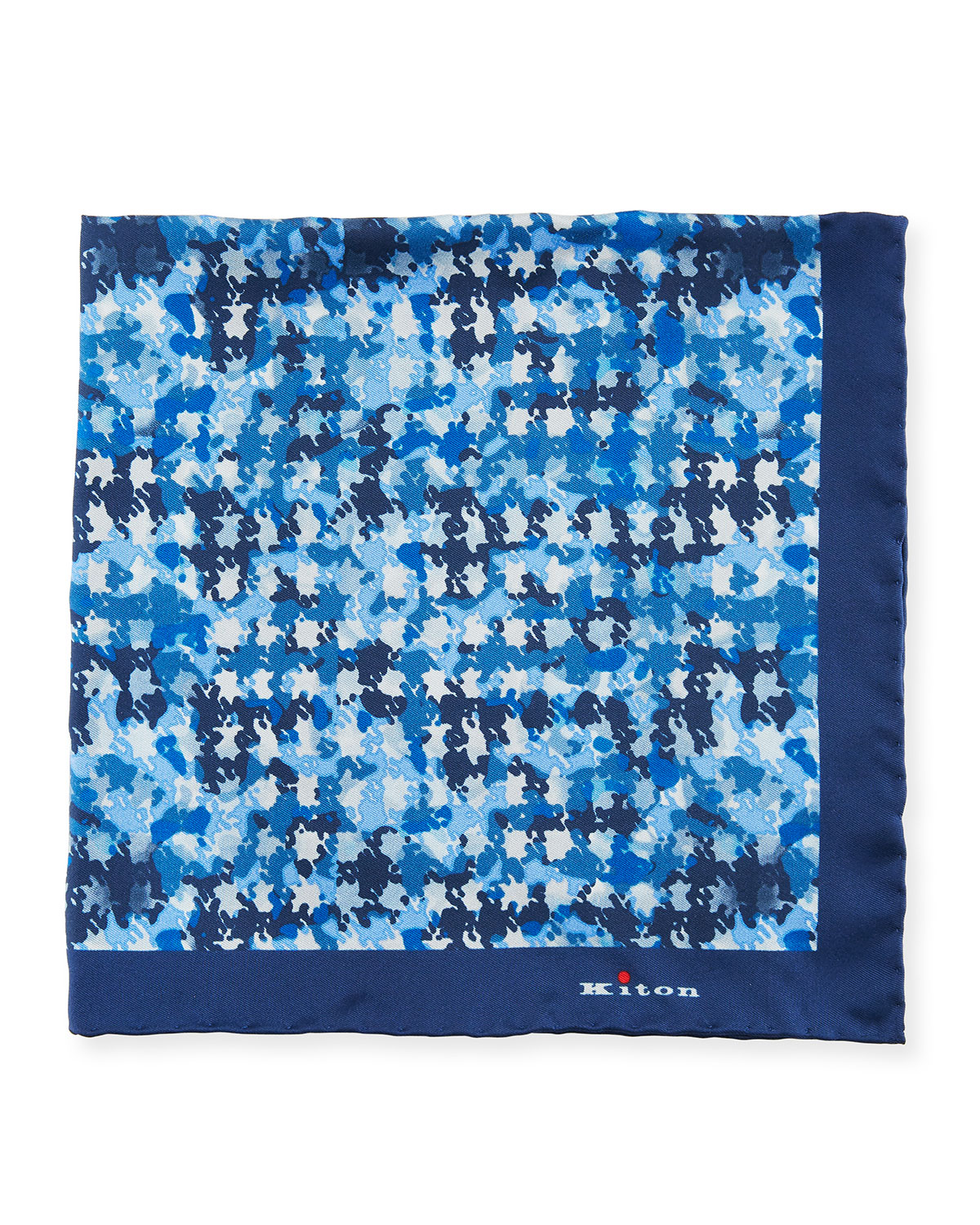 Irregular Spots Silk Pocket Square