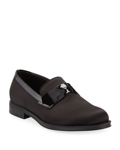 Men's Satin/Patent Dress Loafers